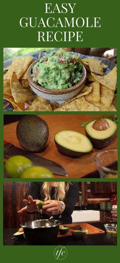 The Best Guacamole Ever Recipe | Healthy Homemade Guacamole | Healthy Appetizer Recipe | Healthy Snack Idea |