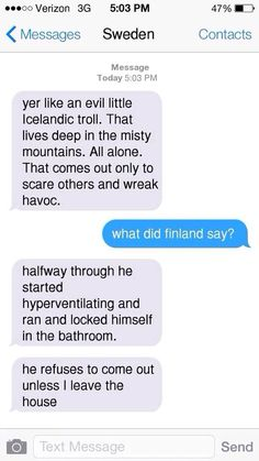 Nordics read fan fiction part 3/4 sufin