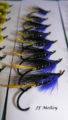 Quantity 50 each Designed by Dave McNeese #1 Blue Heron Spey Hooks!