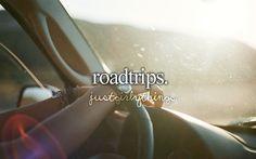 especially roadtrips to the beach!