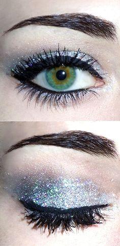 new years eye makeup