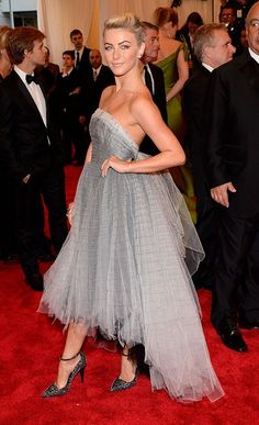 JulianneHough in Topshop at Costume Institute Gala