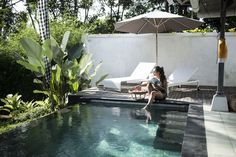 Staying at Villa Shamballa Moon Ubud