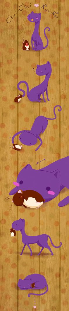 chuichui-Nyunyu by Noroky.deviantart.com Deviantart, Illustrations