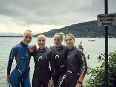 "Welcome Ukraine! Welcome Kiev! Sovereign performance of you, you participated in the relay and reached the second place!  The cold and the bad weather did not stop you from doing a great job - you brought the lake to a boil .... See you: ""Woerthersee-Swim"" - ""No Limit"" 05. & 06. September 2020! Weather Conditions, Ukraine, Wetsuit, Two By Two, September, Bring It On, Swimming, Cold, Swimwear"