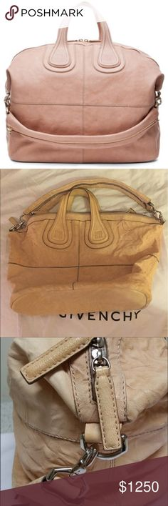 6ef1ea3f04a58b Blush Givenchy nightingale large Still deciding if I will let go of this.  Trading is very selective :-) pretty! Has some wear but it has no effect on  this ...