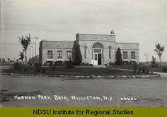 williston north dakota   Harmon Park Bath, Williston, N.D.