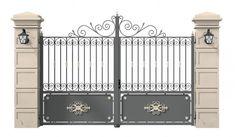 Steel Stairs Design, Drive Gates, Front Gate Design, Front Gates, Main Door, Windows And Doors, Screen Shot, Garden Design, Iron