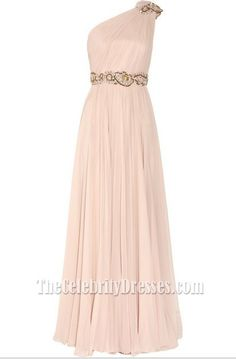 Gorgeous New Style One Shoulder Prom Dress Evening Formal Dresses With Beading