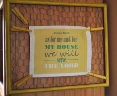 DIY Chicken Wire Frame Easy Peasy DIY Home Decor Crafts