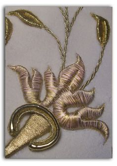 (New, but rather careless) Turkish goldwork in 19th century late-Ottoman style.