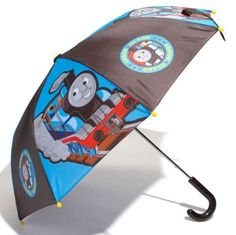 Western Chief Kids Rain Gear, Boys Thomas the Tank Engine Umbrella Blue - One Size $15.99