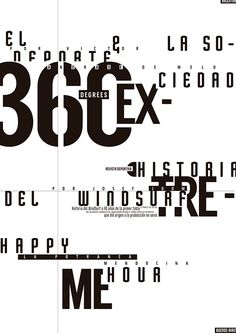 While it may look chaotic there is a clear grid structure. The contrast of white with the black font makes the text legible despite the text overlapping and despite text being everywhere, there is hierarchy. Type Posters, Graphic Design Posters, Graphic Design Typography, Typography Inspiration, Graphic Design Inspiration, Text Design, Layout Design, Logo Design, Typographic Poster