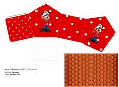 Mickey Marinero: Caja con Forma de Casa para Imprimir Gratis. Mickey Mouse, Minnie, Printable Box, Free Printables, Sailor Party, Oh My Fiesta, Mickey Party, Blogger Templates, Just Giving
