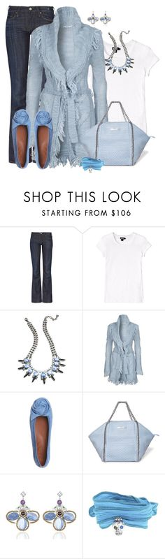 """""""Casual Blues"""" by fantasy-closet ❤ liked on Polyvore featuring moda, Levi's Made & Crafted, DKNY, DANNIJO, Braez, Paco Gil, Silvian Heach, Ziio e Catherine Michiels"""