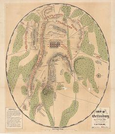 Gettysburg Battlefield 1863 Pennsylvania  Beautiful by GalleryLF