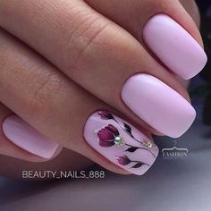 90 Stylish Spring Flower Nail Art Designs and Ideas 2019 - Diy Nail Designs Flower Nail Designs, Flower Nail Art, Nail Designs Spring, Nail Art Designs, Nails Design, Nails With Flower Design, Pedicure Designs, Spring Design, Perfect Nails
