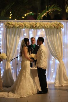 Rochelle & Juniors Wedding at the Pavilion Grille