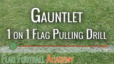 This flag pulling drill is always a team favorite. I like it since it gives each player the opportunity to work on the flag pulling technique. Flag Football For Kids, Football Drills For Kids, Flag Football Plays, Soccer Drills, American Football, Football Moms, Football Stuff, Football Players, Soccer Practice
