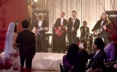 Adam Levine and Maroon 5 Were the Best Wedding Crashers Ever in Their New 'Sugar' Music Video! (Watch) | Photo by: Maroon 5 via YouTube | TheKnot.com