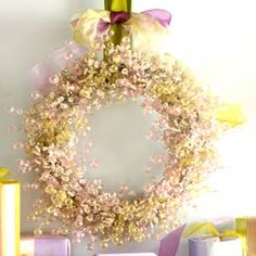 Use sweet Annie to create a wreath that smells as good as it looks.