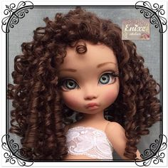 Disney Princess Dolls, Disney Dolls, Ooak Dolls, Art Dolls, Dolly Doll, African Dolls, Disney Animator Doll, Felt Bunny, Doll Repaint
