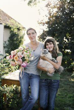 Erin and Elora Benzakein - Floret Flower Farm by Erin Benzakein / Floret Flower Farm, via Flickr