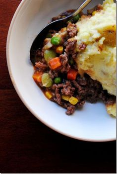 Cottage pie or Shepards pie, super easy I am going to see if this is comparable to mine. If it is this will cut down on time!