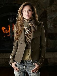 Gorgeous trim blanket wrap jacket fashion style
