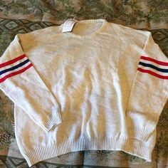 Brandy Melville veena sweater Brand new Brandy Melville Veena sweater • no trades Brandy Melville Sweaters Crew & Scoop Necks