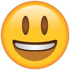 When your smile is just too big to hide, this wide-eyed emoji will perfectly reflect how you feel. Emoticon Emoji, Emoticon Faces, Eyes Emoji, Cute Girl Wallpaper, Emoji Wallpaper, Kawaii Wallpaper, Excited Emoji, Emoji Feliz, Happy Smiley Face