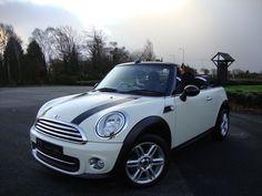 Perfect! Creame White Mini Cooper Convertible