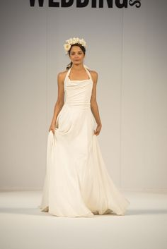Goddess glamour trend from Halfpenny London at Ellie Sanderson Bridal Boutique #wedding #dress #goddess