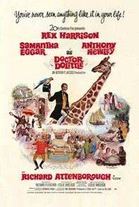 """My friend the Doctor says the world is full of fantasy -  and who are you and I to disagree? Let's hope and pray that is the way the life we love will always stay for my friend the Doctor and me"" - Doctor Dolittle - 1967"