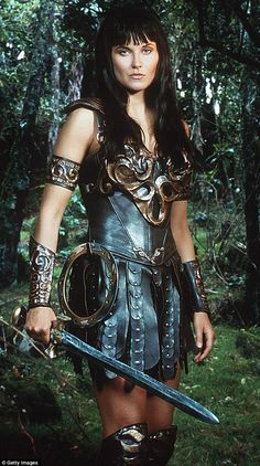 Cult star! Lucy's character Xena Warrior Princess began as a Hercules spin-off  but quickl...
