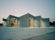 super cool fire station by arriola arquitectes