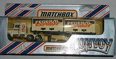 MATCHBOX LESNEY CONVOY LORRY PETERBILT FEDERAL EXPRESS - http://www.matchbox-lesney.com/37664