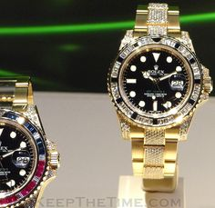 Rolex GMT-Master II at Baselworld 2012