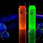 2) Liquide à bulle UV actif Gold 30ml