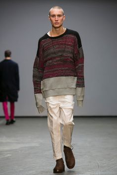 A look from the Casely-Hayford Fall 2015 Menswear collection.
