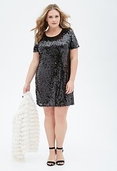 Sequined Shift Dress   FOREVER21   I NEED THIS DRESS, LIKE NOW!