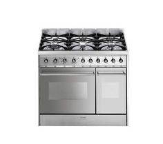 SMEG C92DX8 Dual Fuel Cooker - Stainless Steel Range - RRP £999 | eBay