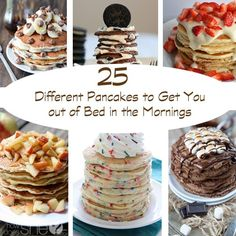 25 Different Pancakes to Get You out of Bed in the Mornings howdoesshe.com