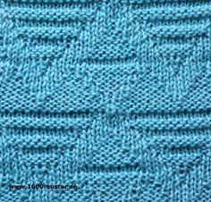 1000 strickmuster 049 herzen - Strick Muster