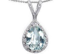 Tommaso Design Pear Shape Simulated Aquamarine and Diamonds Pendant 14k Tommaso design Studio http://www.amazon.com/dp/B003Z3RYZ8/ref=cm_sw_r_pi_dp_jHgcvb11J48FJ