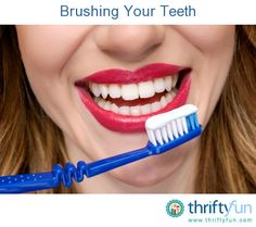 This guide is about brushing your teeth. Developing a regular routine of proper brushing will help you maintain your oral health.