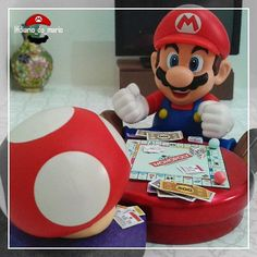What's your favorite board game? Mario goes crazy over Monopoly.