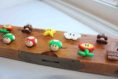 The Adventures of Arcly and Elo: Geekery (Polymer Clay Super Mario Magnets)