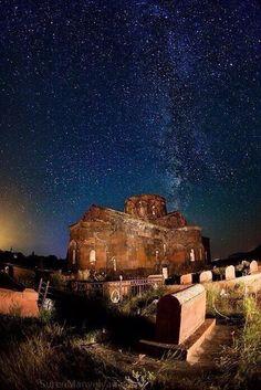 Armenia covered in a blanket of stars...Beautiful!!