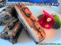 Decadent Chocolate Raspberry Bars